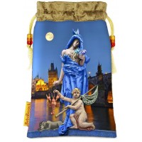 Tarot of Prague bag in The Moon