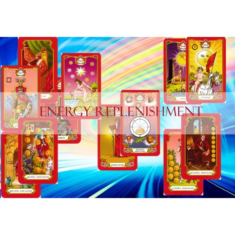 Energy Filling with the help of Tarot Egregor